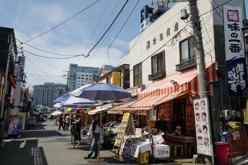 函館4泊5日ひとり旅で食べたおいしいもの&おいしいお店12:函館朝市倉辺商店