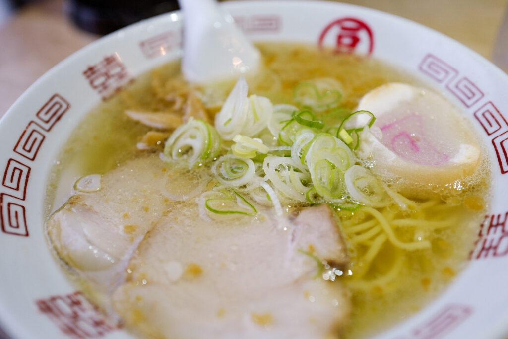函館4泊5日ひとり旅で食べたおいしいもの&おいしいお店12:函館塩ラーメン 豆さん