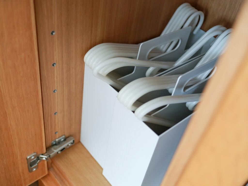 無印の洗濯用ハンガーの収納を改善した方法