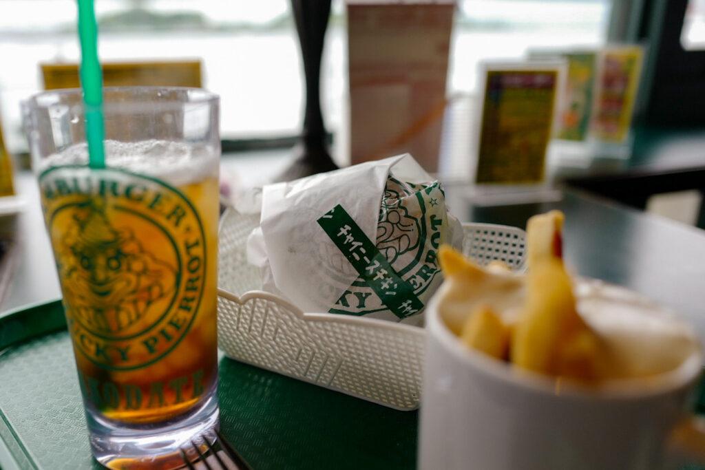 函館4泊5日ひとり旅で食べたおいしいもの&おいしいお店12:ラッキーピエロマリーナ末広店
