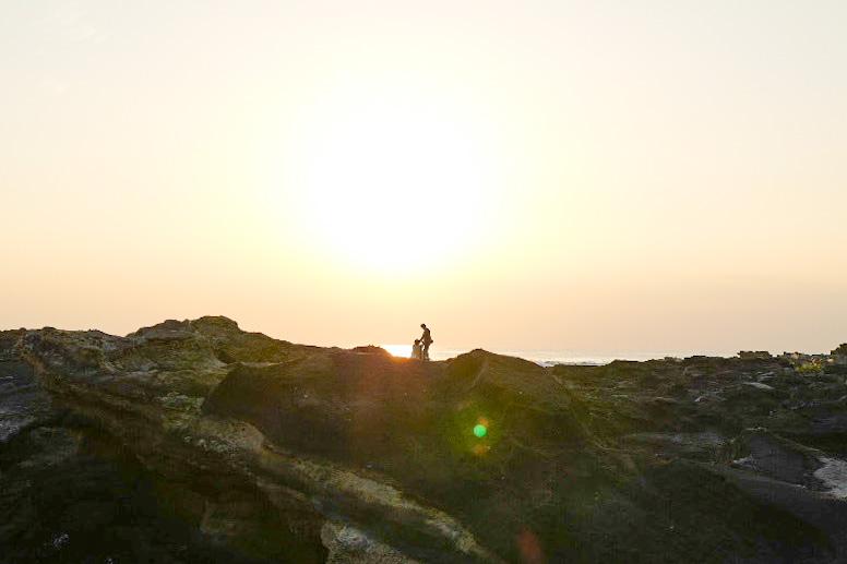 城ヶ島で民宿にチェックイン、島内散策